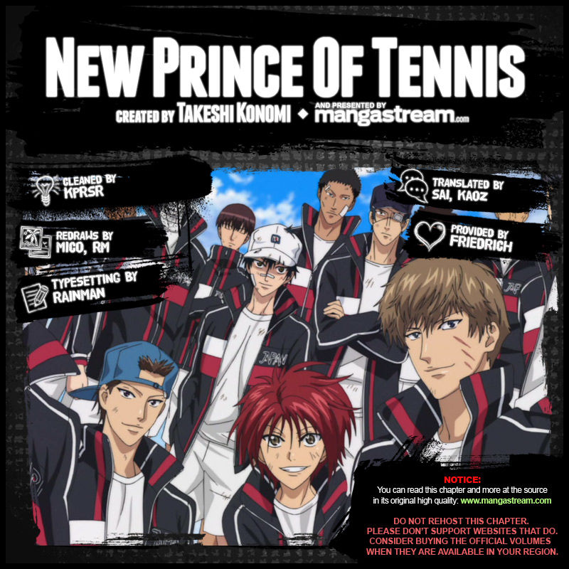 New Prince of Tennis 141 Page 2