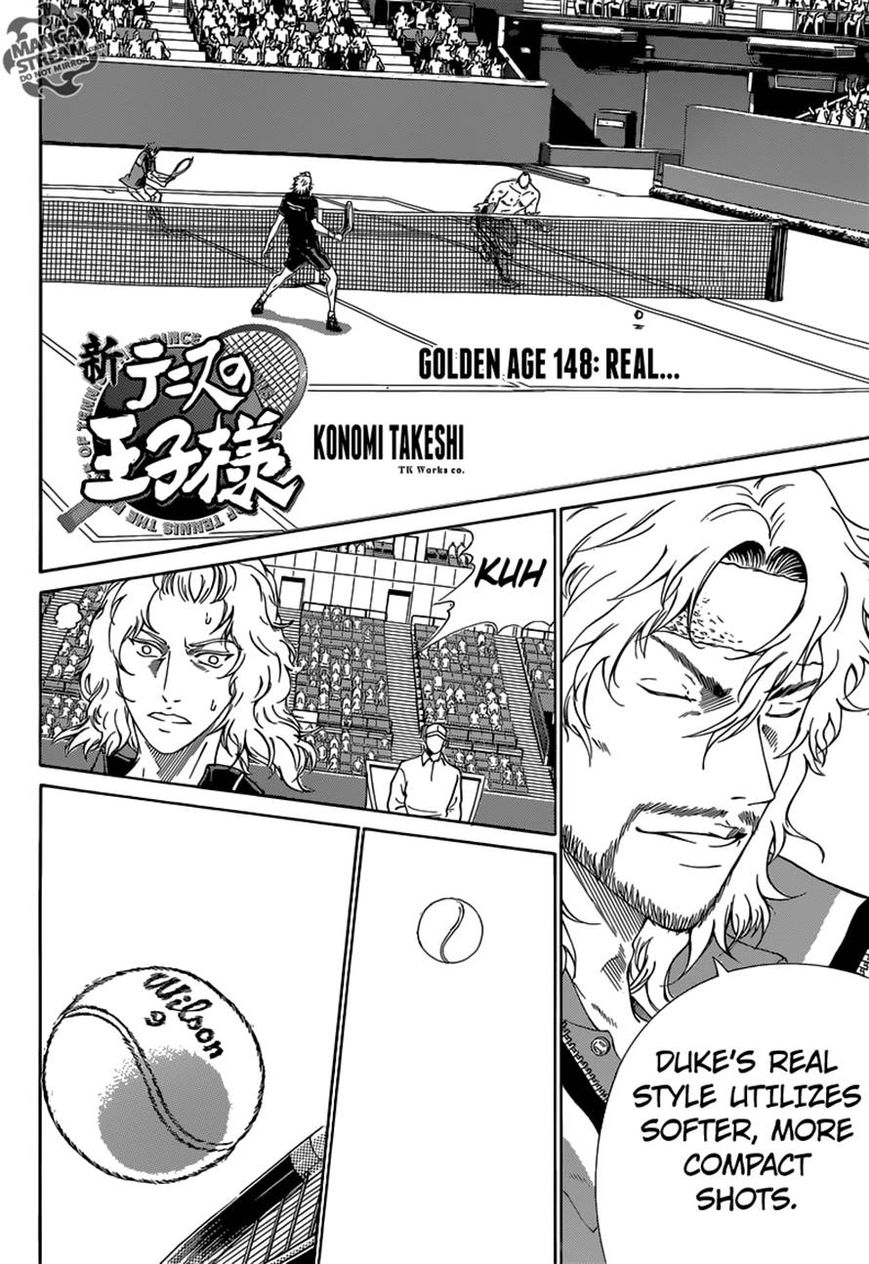New Prince of Tennis 148 Page 1