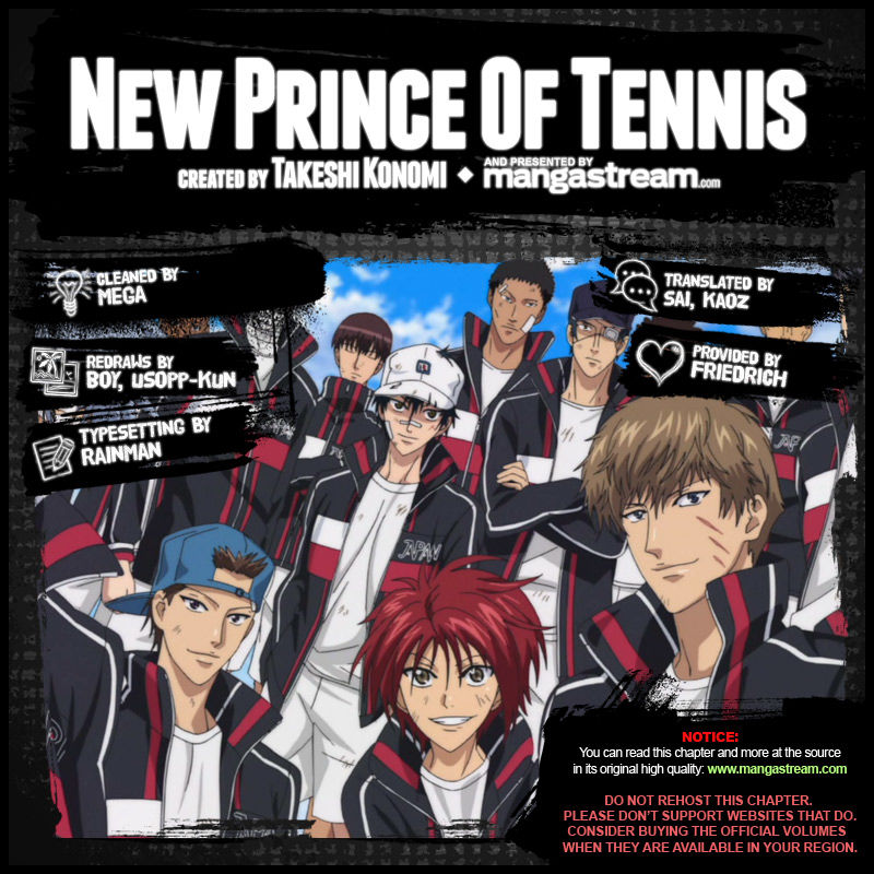 New Prince of Tennis 168 Page 2