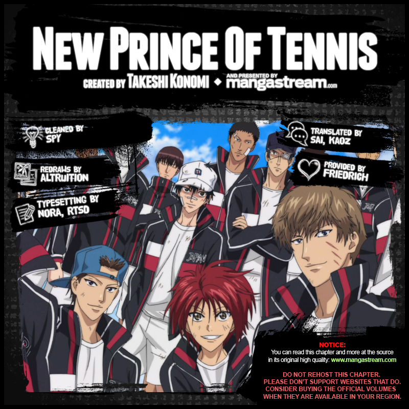 New Prince of Tennis 176 Page 2