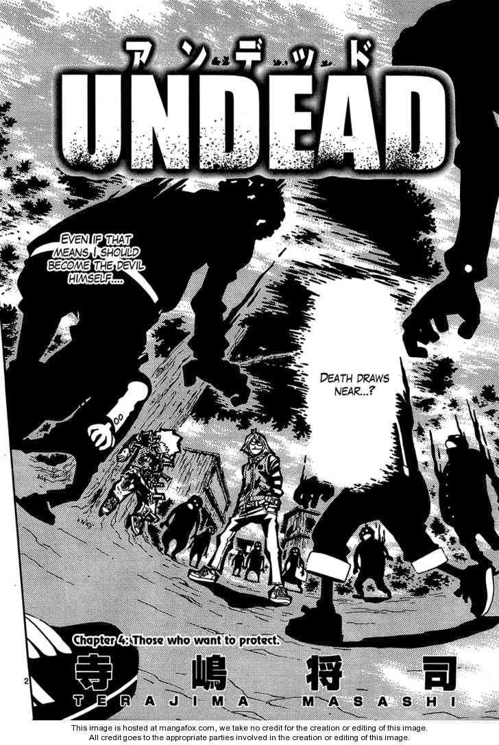 Undead (TERASHIMA Masashi) 4 Page 2