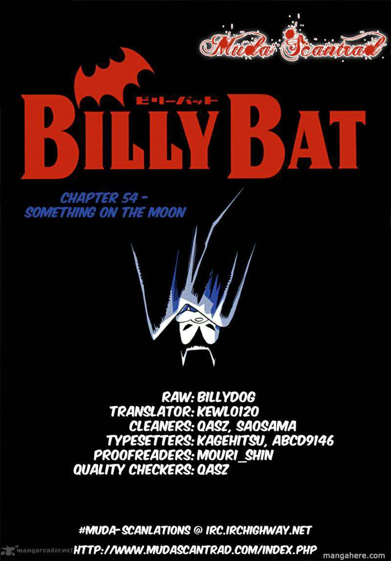 Billy Bat 54 Page 1