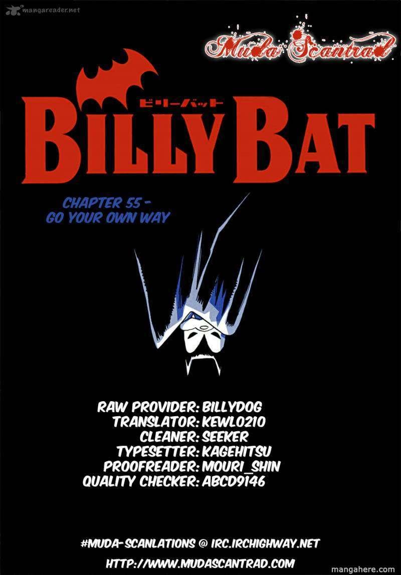 Billy Bat 55 Page 1