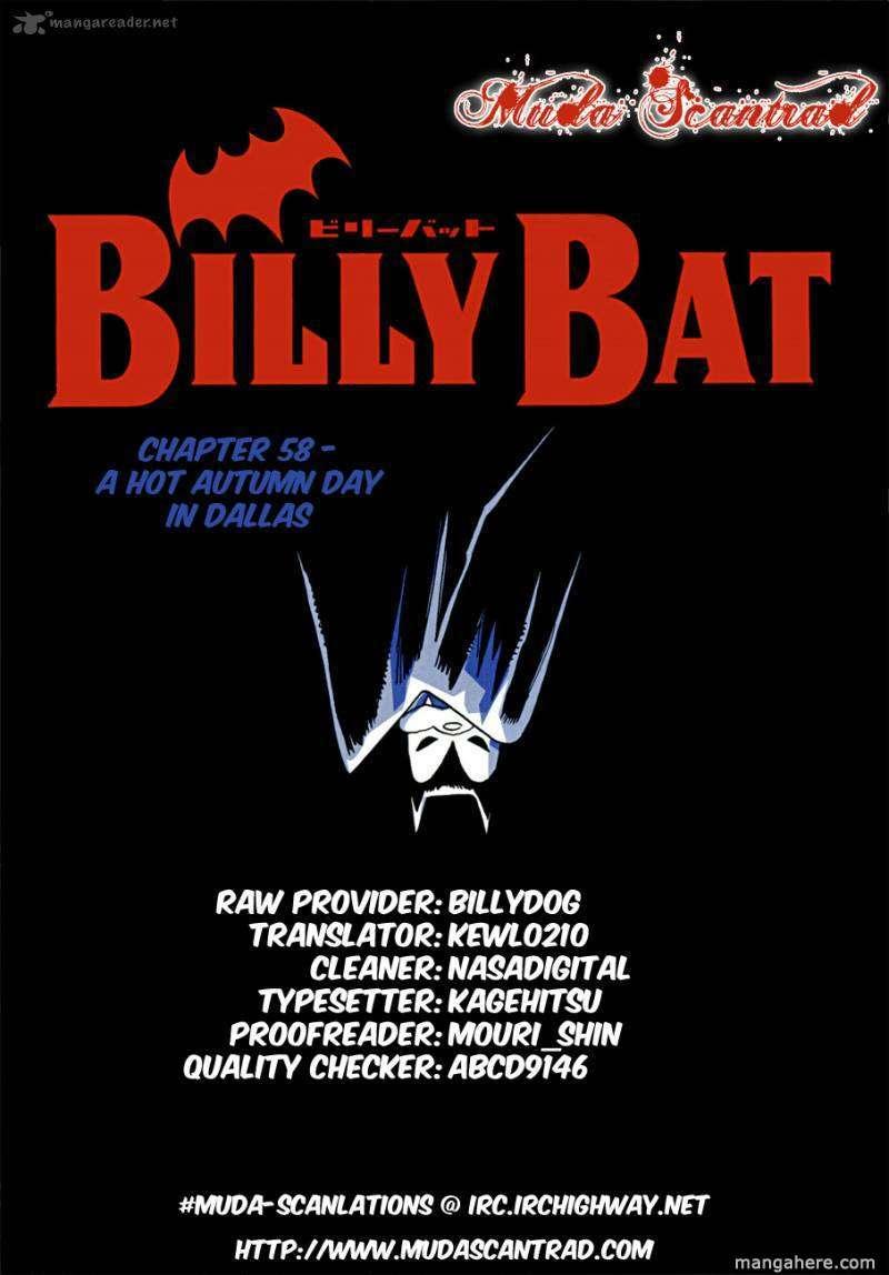 Billy Bat 58 Page 1