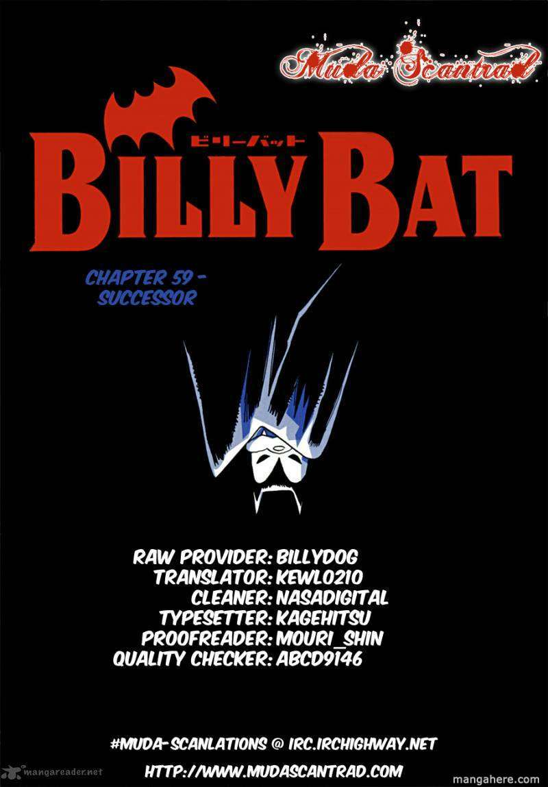 Billy Bat 59 Page 1