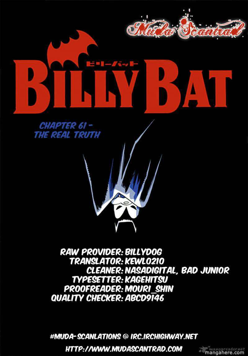 Billy Bat 61 Page 1