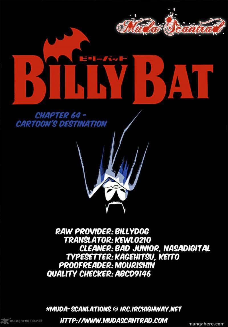 Billy Bat 64 Page 1