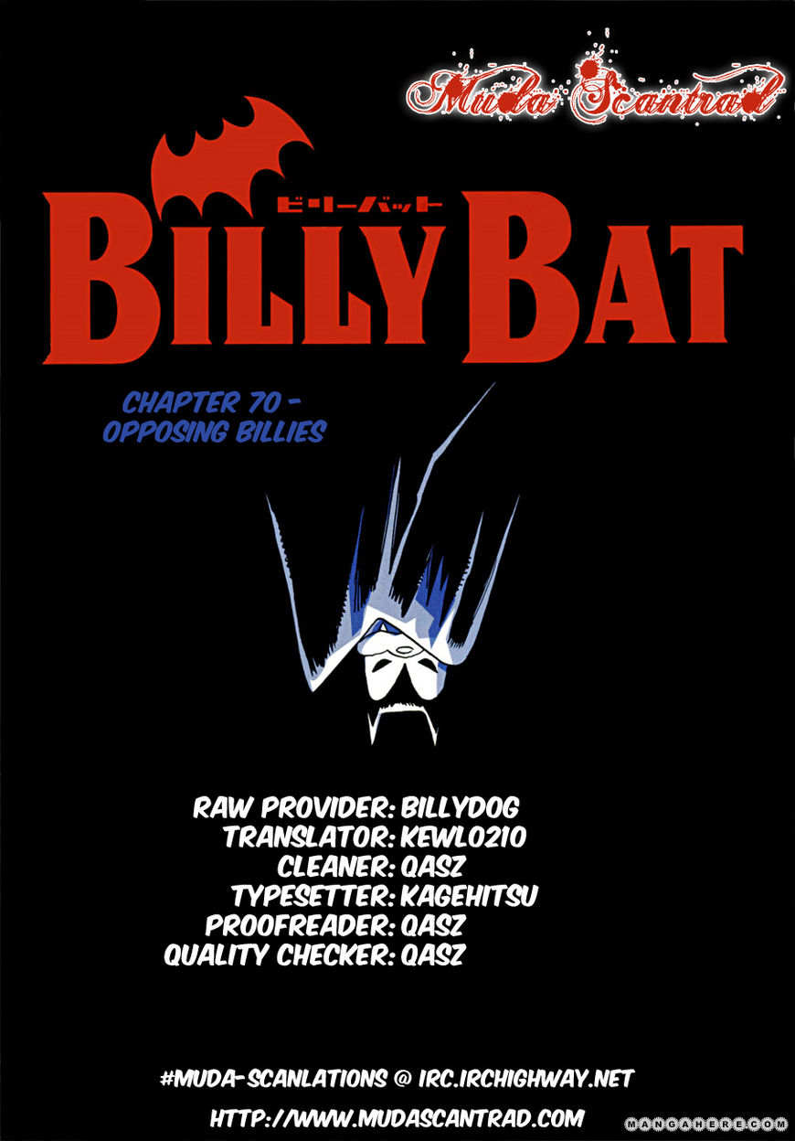 Billy Bat 70 Page 1