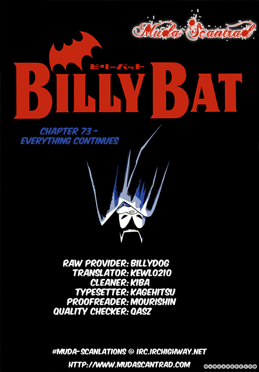 Billy Bat 73 Page 1