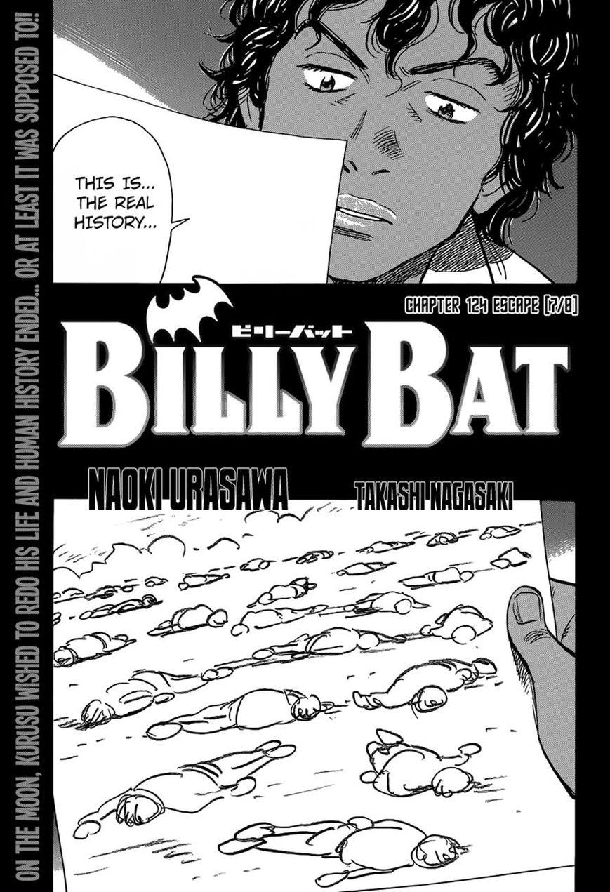 Billy Bat 124 Page 1