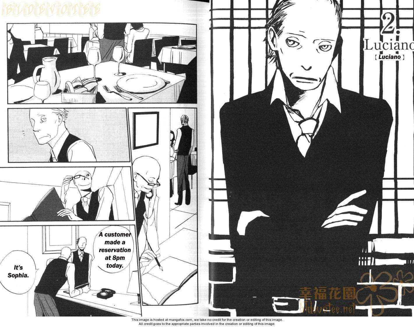 Gente - Ristorante no Hitobito 2 Page 2