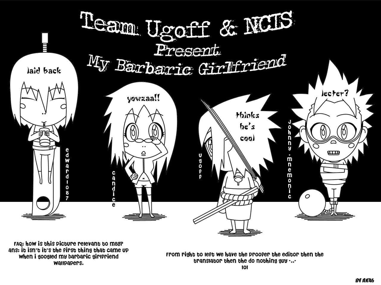 My Barbaric Girlfriend 8 Page 1