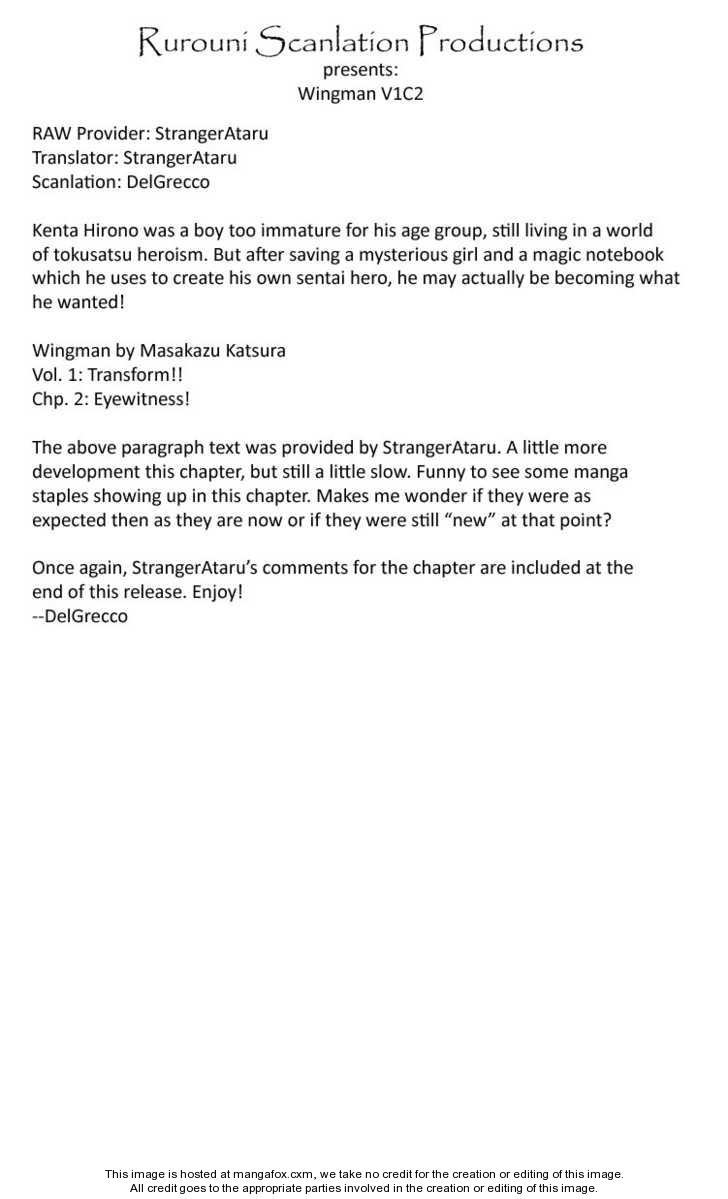 Wingman 2 Page 1
