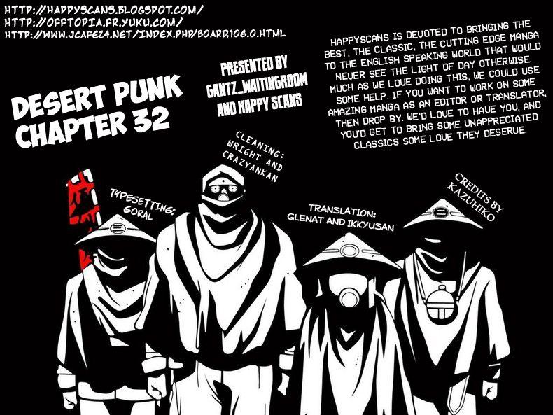 Desert Punk 32 Page 1