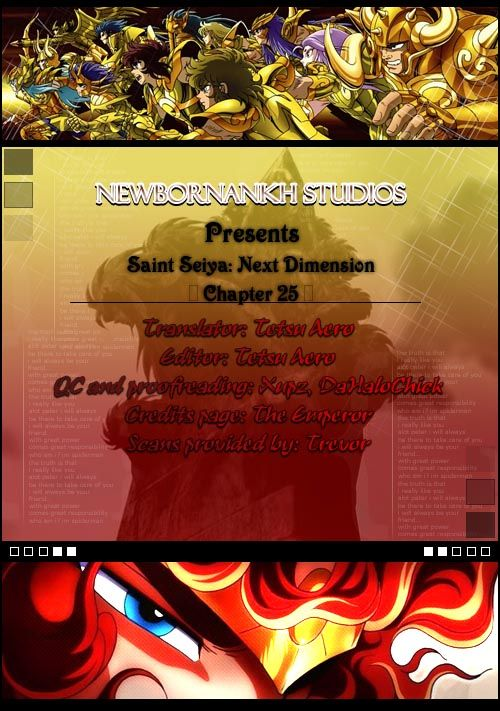 Saint Seiya - Next Dimension 25 Page 1