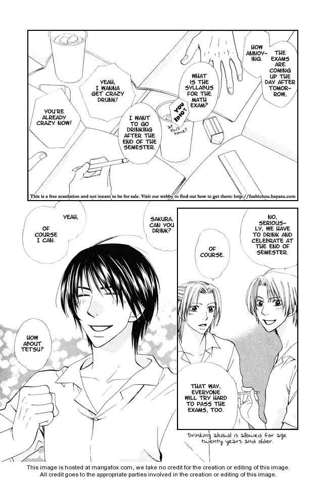 Kanmitsu Danshi 5 Page 3