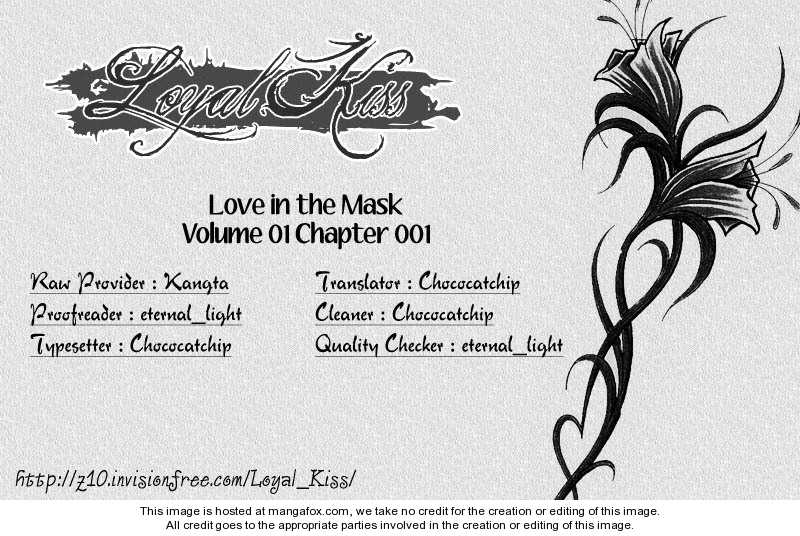 Love in the Mask 1 Page 2