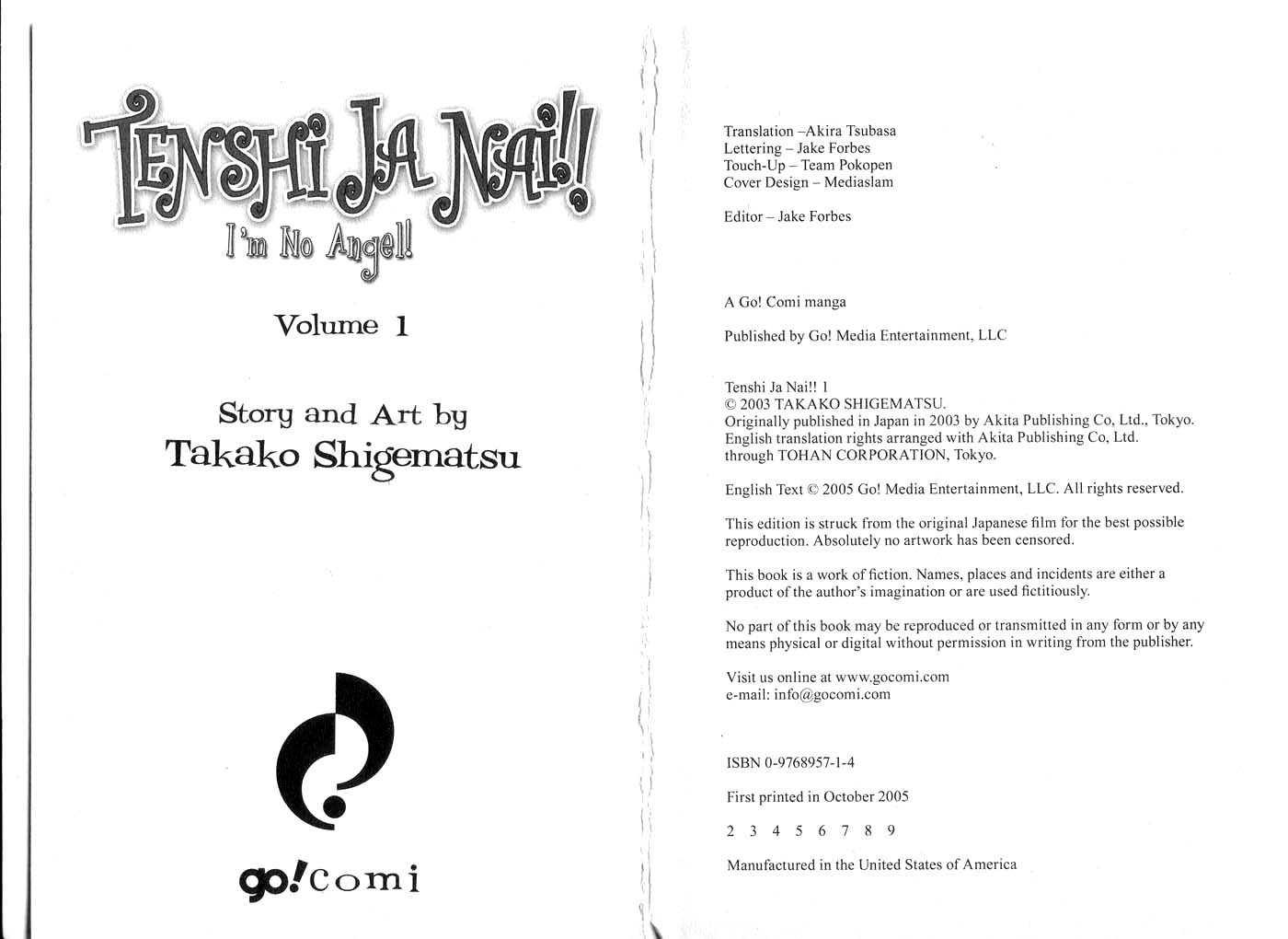 Tenshi Ja Nai! 0.1 Page 2