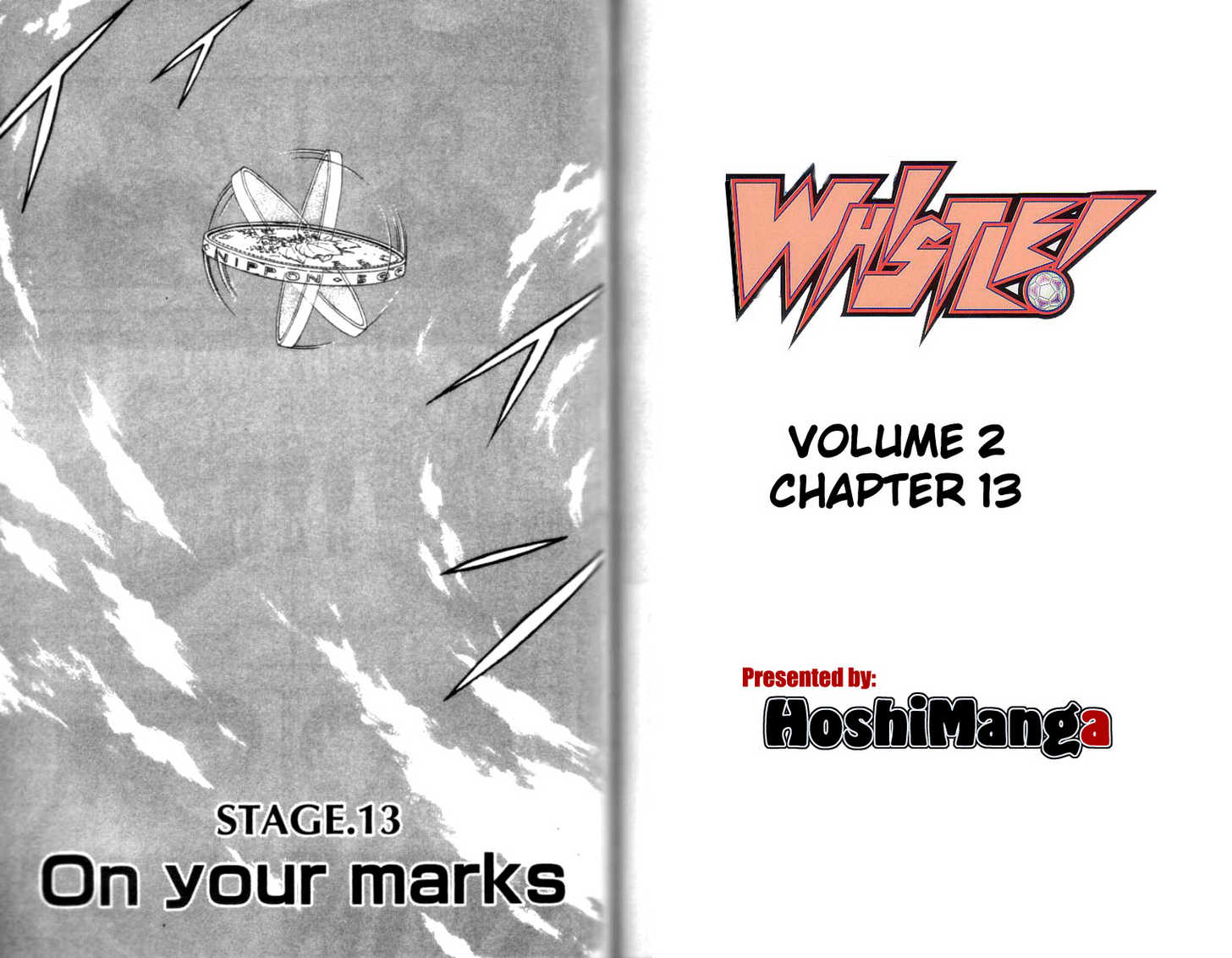 Whistle! 13 Page 1