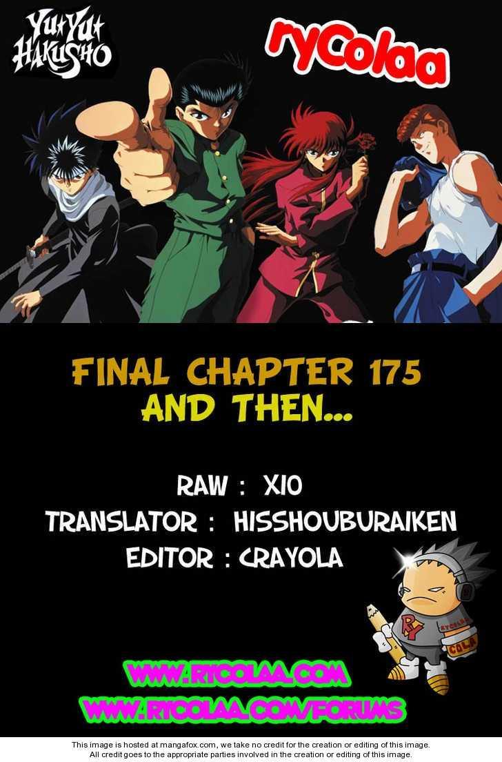 Yu Yu Hakusho 175 Page 1