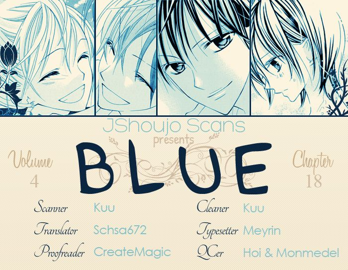 Blue (CHIBA Kozue) 18 Page 1
