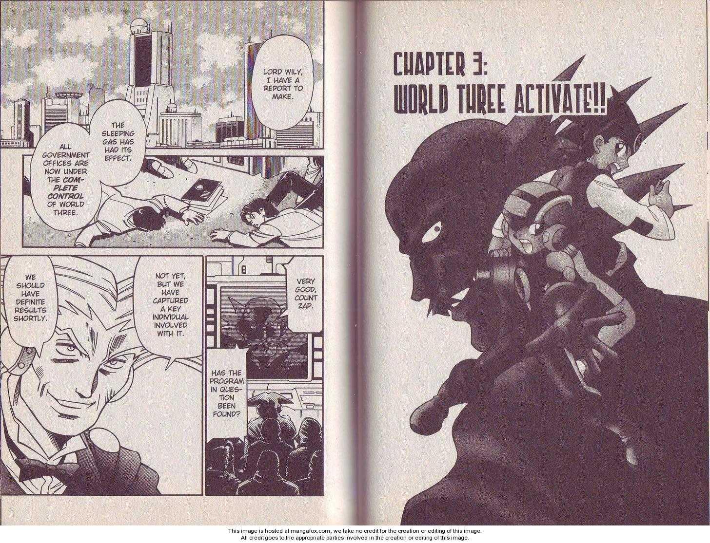 Megaman NT Warrior 3 Page 1