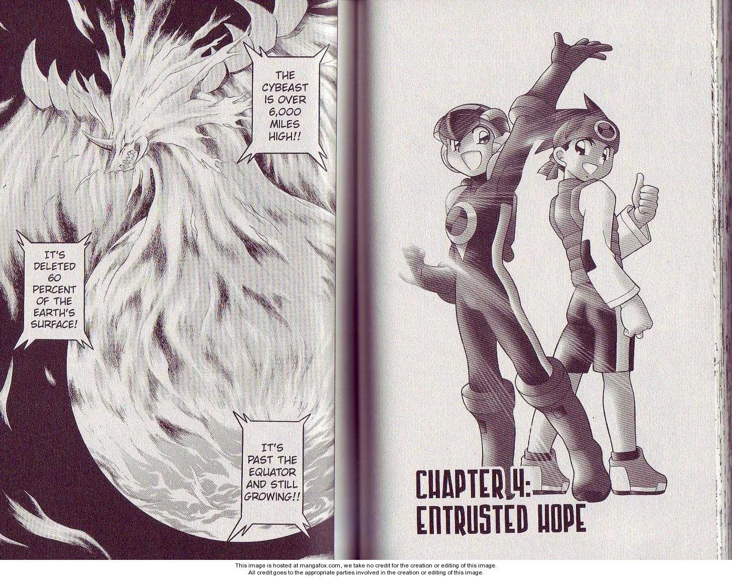 Megaman NT Warrior 4 Page 1