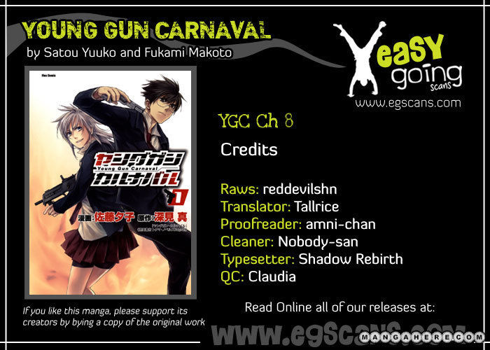 Young Gun Carnaval 8 Page 1