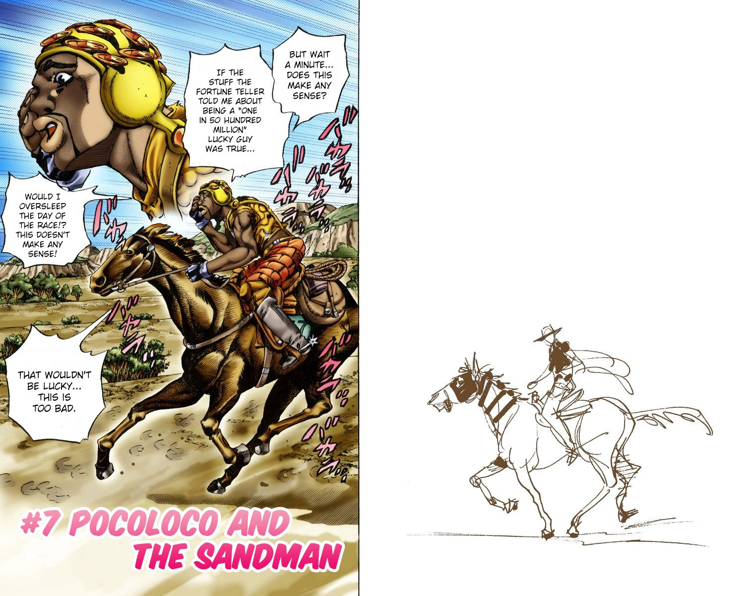 Steel Ball Run 7 Page 1
