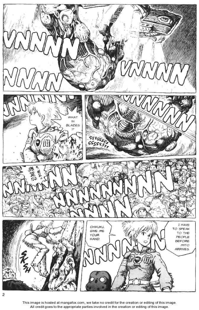 Nausicaä of the Valley of the Wind 6 Page 2