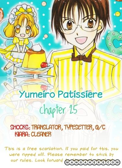 Yumeiro Patissiere 25 Page 1