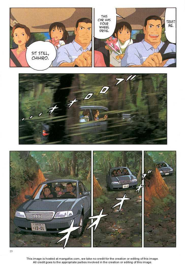 Sen to Chihiro no Kamikakuchi 2 Page 3