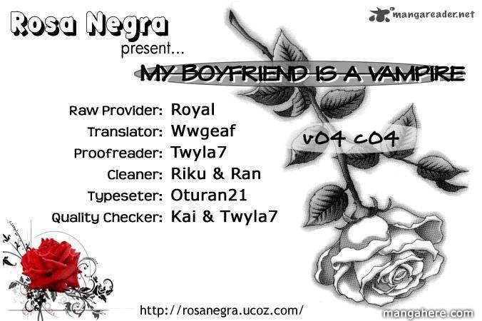 My Boyfriend is a Vampire 16 Page 1