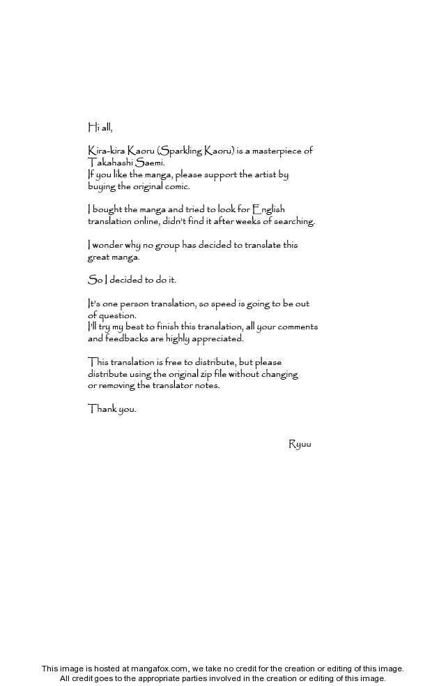 Kirakira Kaoru 1 Page 2
