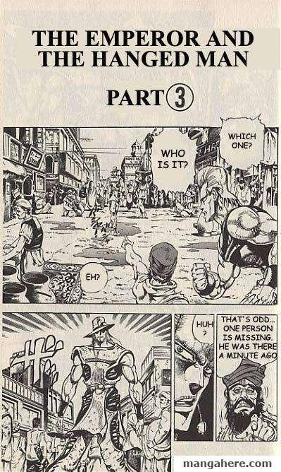 JoJo's Bizarre Adventure Part 3: Stardust Crusaders 28 Page 1