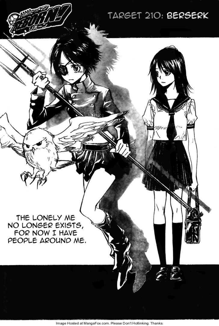 Katekyo Hitman Reborn 210 Page 1