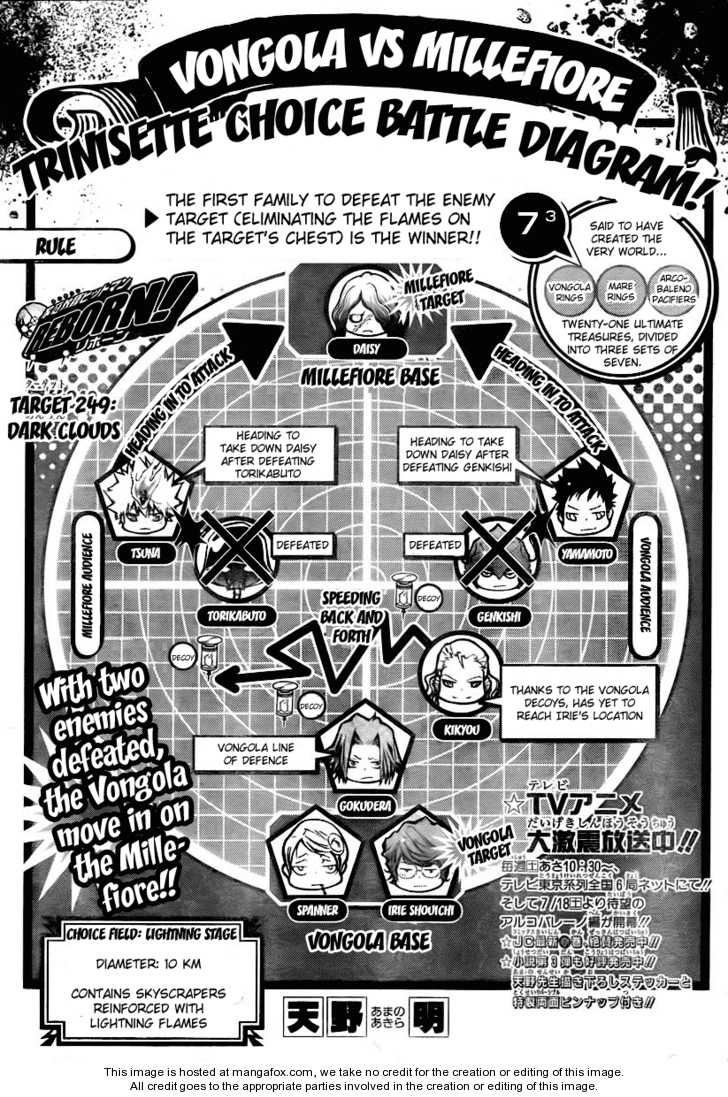Katekyo Hitman Reborn 249 Page 1