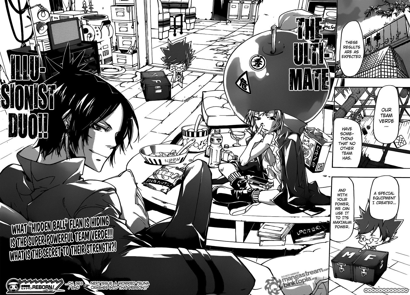 Katekyo Hitman Reborn 363 Read Katekyo Hitman Reborn Chapter 363