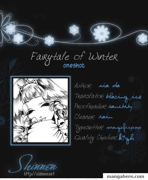 Fairytale of Winter 1 Page 1