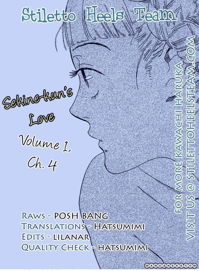 Sekine Kun No Koi 4 Page 1
