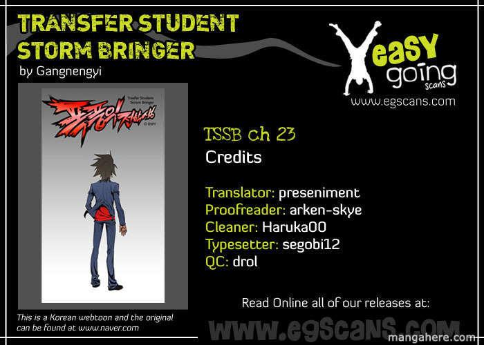 Transfer Student Storm Bringer 23 Page 1