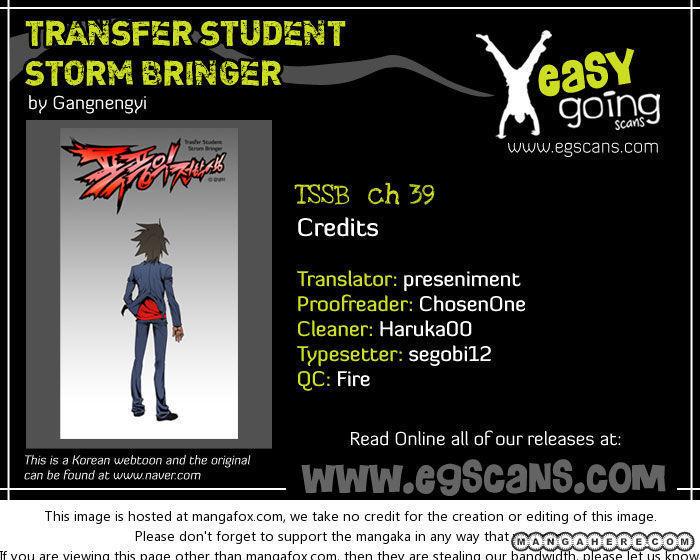 Transfer Student Storm Bringer 39 Page 1