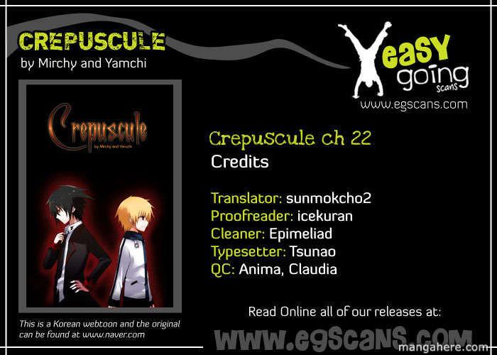 Crepuscule (Yamchi) 22 Page 1