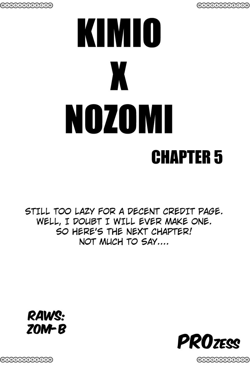 Nozomi To Kimio 5 Page 1