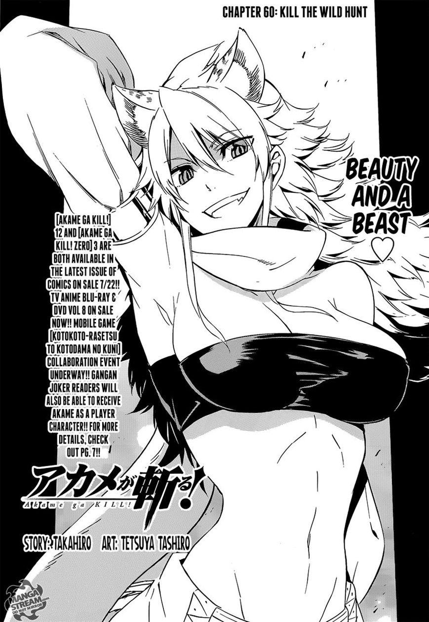 Akame ga Kiru! 60 Page 1