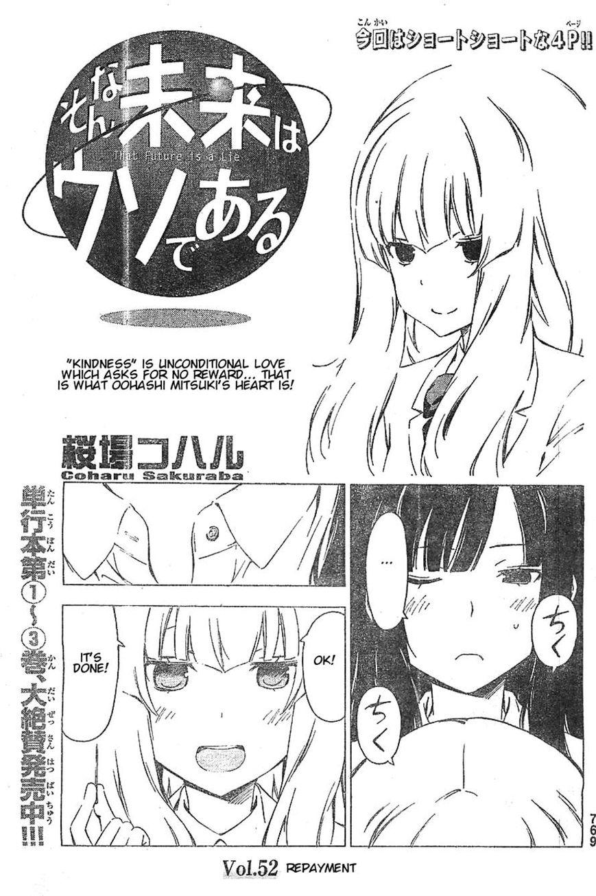 Sonna Mirai wa Uso de Aru 52 Page 1