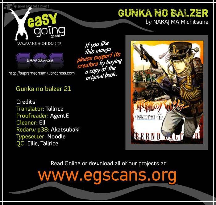 Gunka No Baltzar 21 Page 1