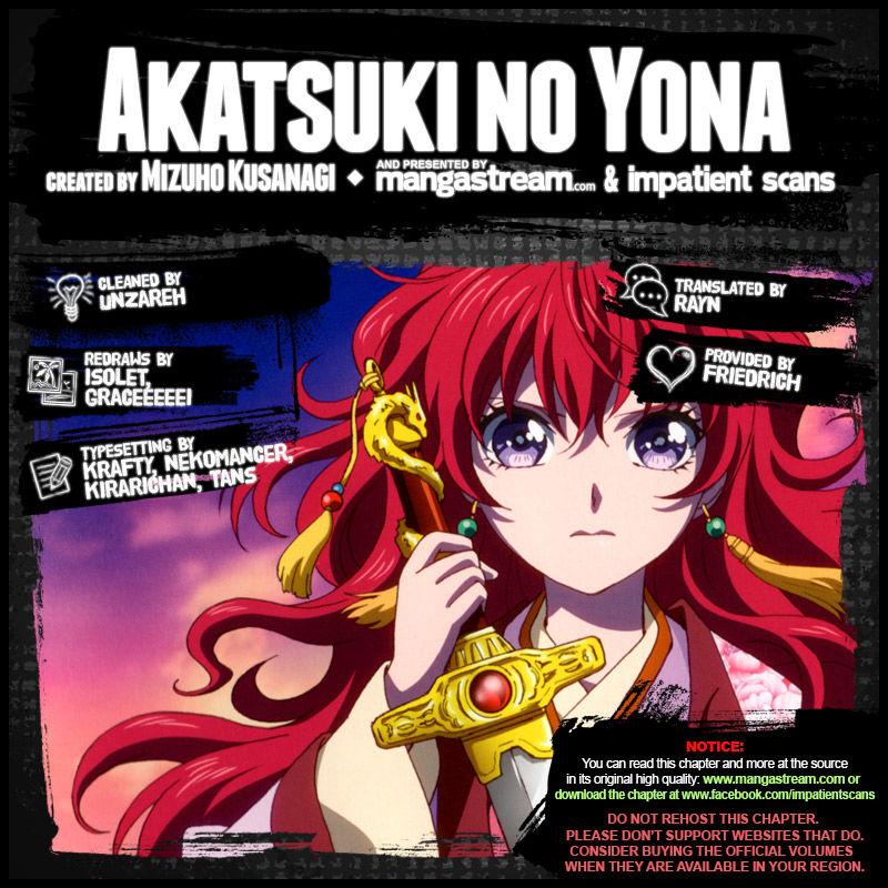 Akatsuki No Yona 149 Page 2