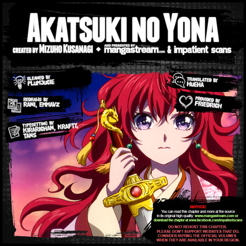 Akatsuki No Yona 157.5 Page 2