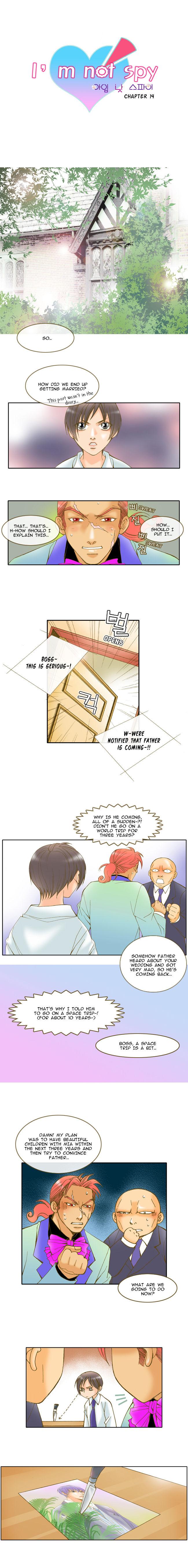 I'm not Spy 14 Page 1